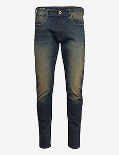 3301 Slim - slim jeans - antic blight green