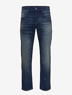 3301 Straight - regular jeans - worker blue faded