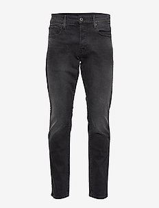3301 Tapered - regular jeans - faded charcoal