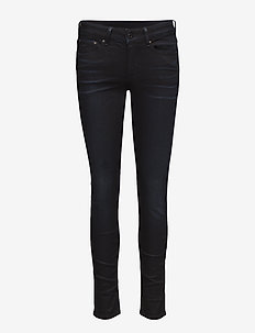 3301 c hg ski w - slim jeans - dk aged