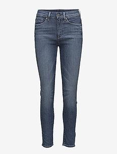 3301 ult hi sup - skinny jeans - dk aged