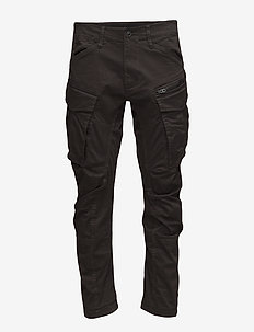 Rovic Zip 3D tapered - casual trousers - raven