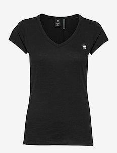 Eyben slim v t wmn s\s - t-shirts - black