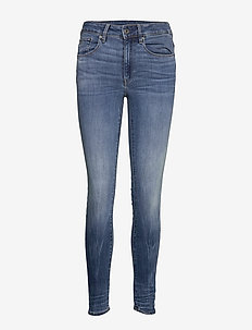 3301 High Skinny Wmn - skinny jeans - medium indigo aged
