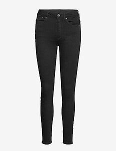 3301 High Skinny Wmn - skinny jeans - pitch black