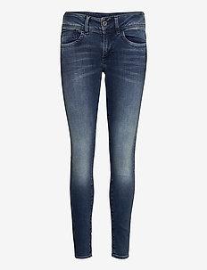 Lynn Mid Skinny Wmn NEW - skinny jeans - antic blue