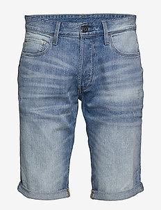 3301 1\2 - denim shorts - lt aged