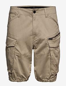 Rovic zip relaxed 1\2 - casual shorts - dune