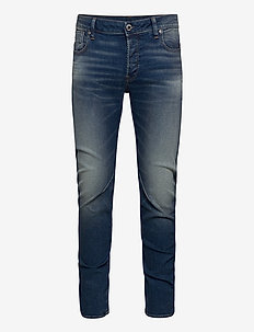 Arc 3D Slim - slim jeans - worker blue faded