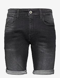 3301 Slim short - denim shorts - medium aged grey
