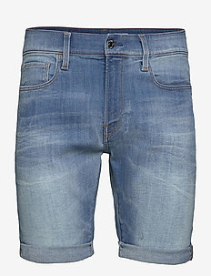 3301 Slim short - short en jean - vintage striking blue