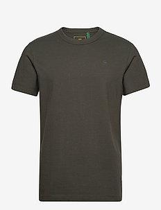 Stem r t s\s - basic t-shirts - asfalt