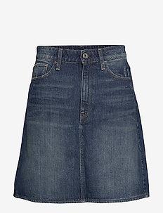 3301 Skirt - jeansröcke - vintage blue stone