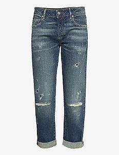 Kate Boyfriend Wmn C - boyfriend jeans - faded ripped atlas