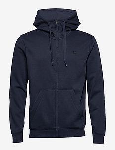 Premium core hdd zip sw l\s - basic sweatshirts - sartho blue