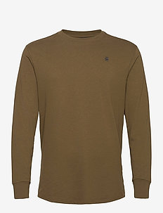 Lash r t l\s - basic t-shirts - wild olive