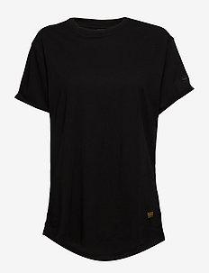 Lash fem loose r t wmn s\s - t-shirts - dk black
