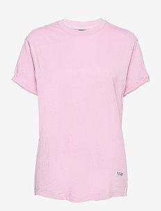 Lash fem loose r t wmn s\s - t-shirts - lavender pink