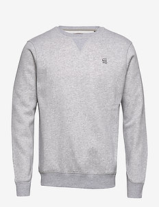 Premium core r sw l\s - basic sweatshirts - lt grey htr