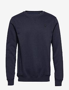Premium core r sw l\s - basic sweatshirts - sartho blue