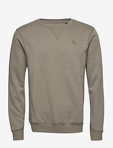 Premium core r sw l\s - basic sweatshirts - shamrock