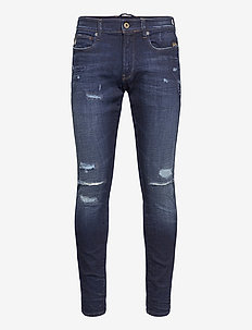 Lancet Skinny - skinny jeans - worn in ripped sapphire