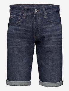 3301 short - denim shorts - worn in blue stone