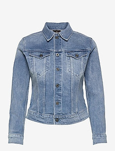3301 Slim Jacket - spijkerjassen - sun faded stone