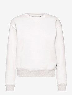 Premium core r sw wmn l\s - sweaters - milk
