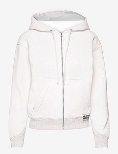Premium core hdd zip thru sw wmn l- - hoodies - milk