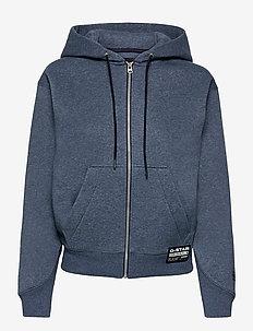 Premium core hdd zip thru sw wmn l- - hoodies - worn in kobalt htr
