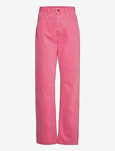 Tedie Ultra High Long Straight Wmn - straight regular - recycrom petunia pink gd