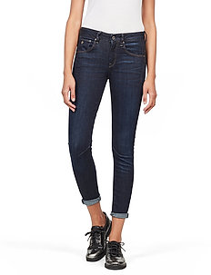 Arc 3D Mid Skinny Wmn - skinny jeansy - dk aged