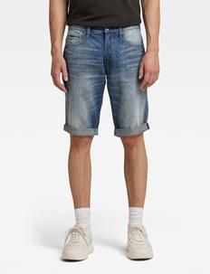 3301 1\2 - denim shorts - medium aged