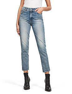 3301 High Straight 90's Ankle Wmn - skinny jeansy - vintage sailor blue