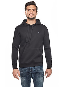 Premium core hdd sw l\s - basic sweatshirts - dk black