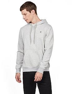 Premium core hdd sw l\s - basic sweatshirts - lt grey htr