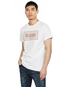 Boxed gr r t s\s - printed t-shirts - white