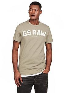 Gsraw gr r t s\s - logo t-shirts - shamrock