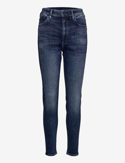 Kafey Ultra High Skinny Wmn - skinny jeans - faded baltic sea
