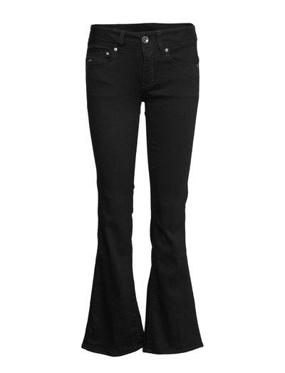 Midge Mid Bootcut Wmn Jeans Boot Cut Schwarz G-STAR RAW