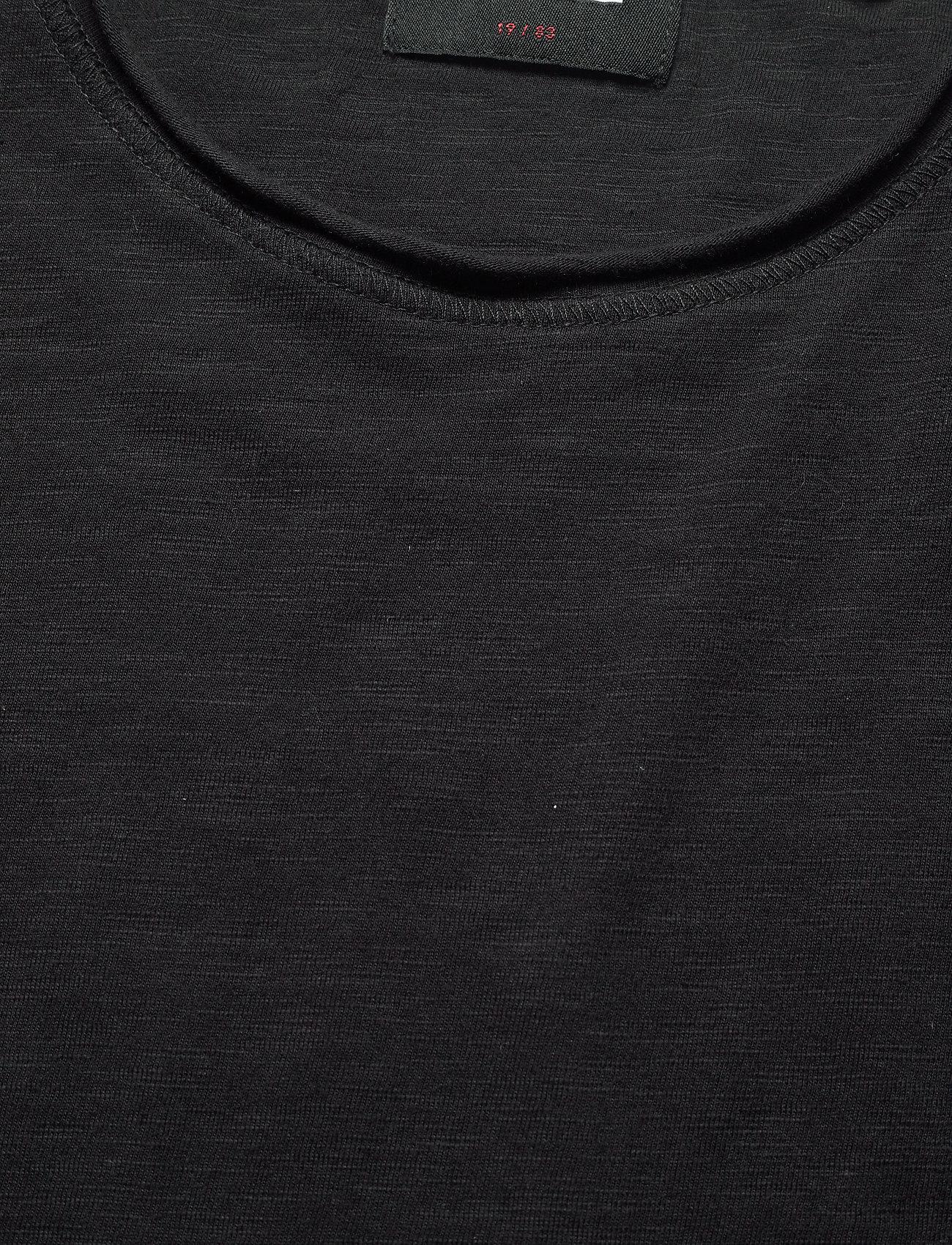 Gabba Konrad Slub S/S Tee - T-skjorter BLACK - Menn Klær
