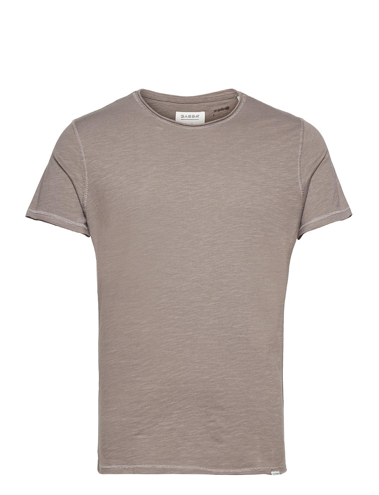 Image of Konrad Slub S/S Tee T-shirt Brun Gabba (3515876461)