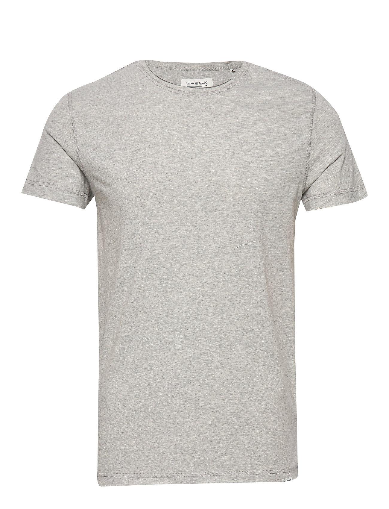 Image of Konrad Slub S/S Tee T-shirt Grå Gabba (3536400563)