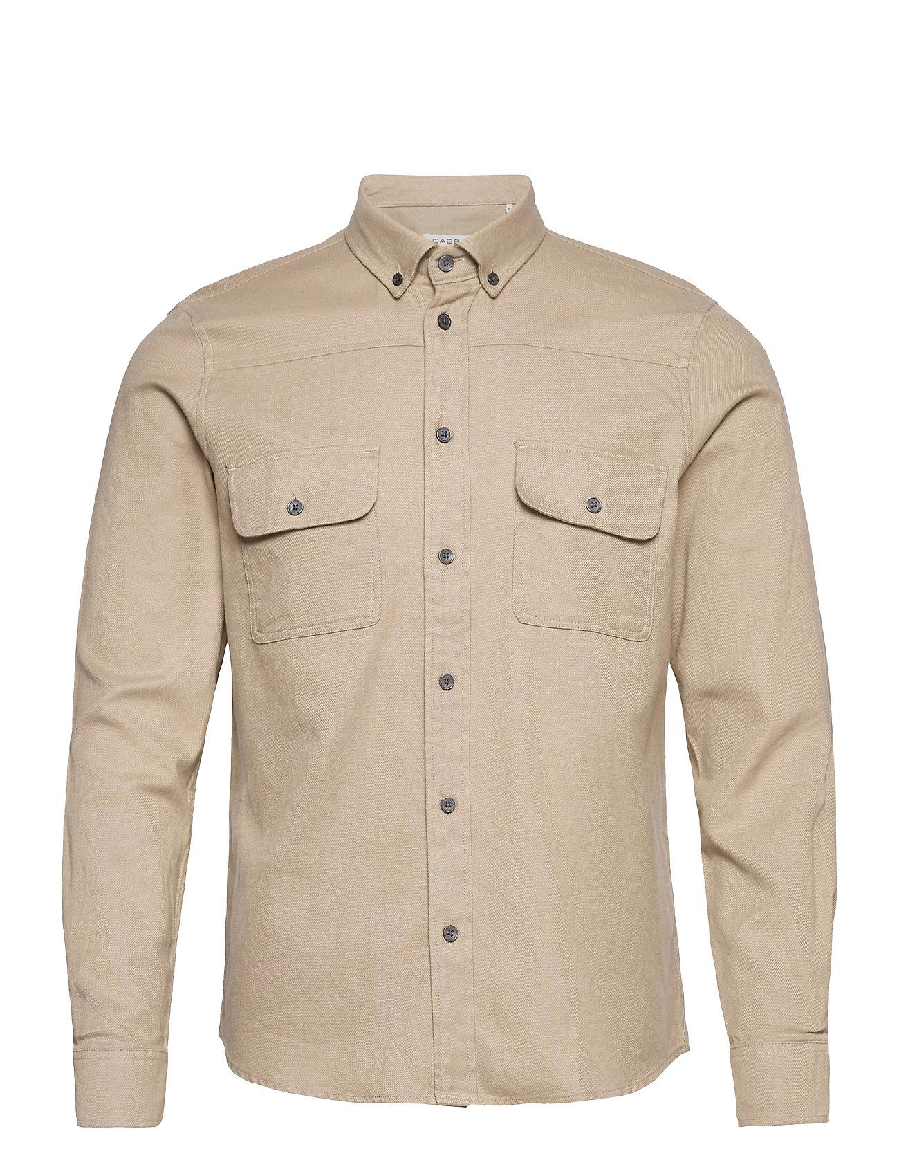 Image of Harbin Ls Shirt Skjorte Casual Beige Gabba (3493873951)