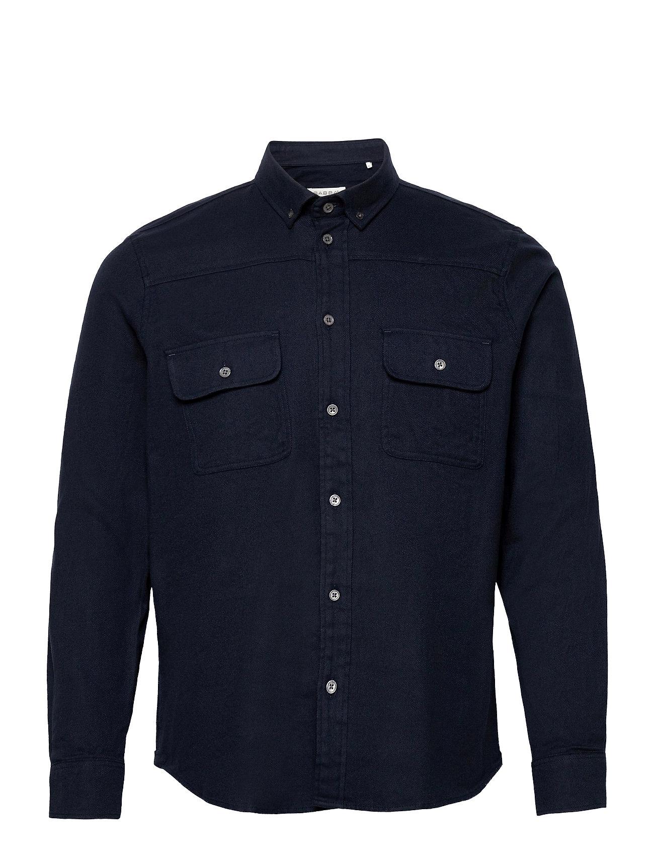Image of Harbin Ls Shirt Skjorte Casual Blå Gabba (3493873955)