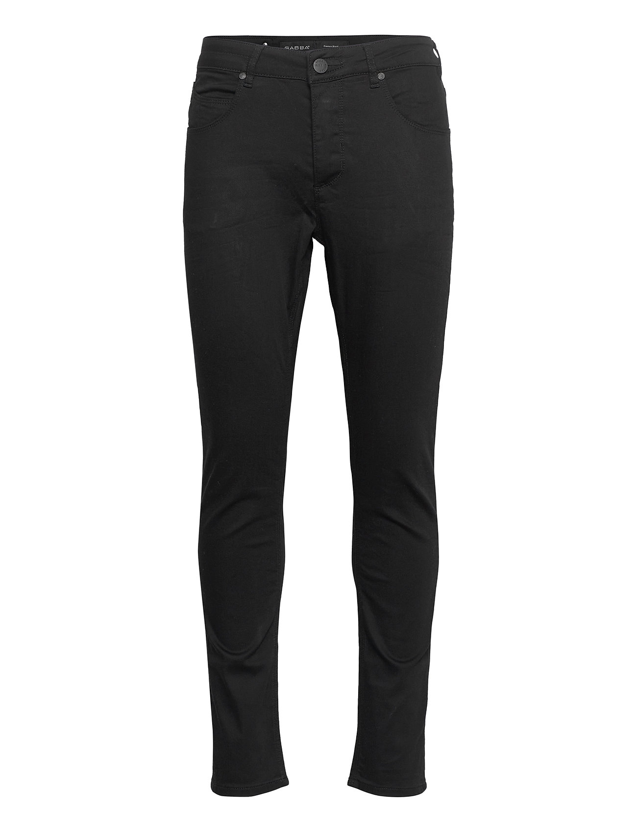 Image of Rey K1535 Black Night Jeans Slim Jeans Sort Gabba (3462446899)