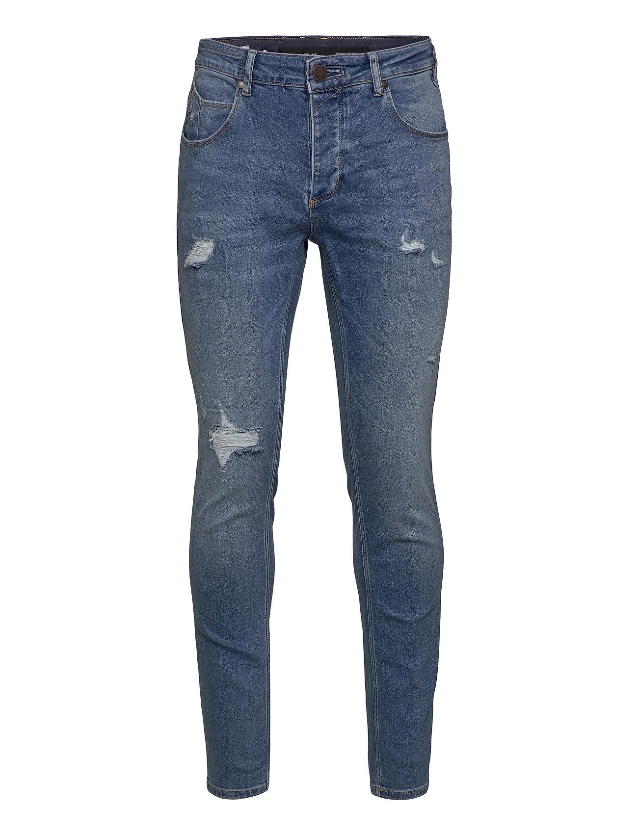 Image of Rey K3518 Lt. Jeans Slim Jeans Blå Gabba (3452761563)
