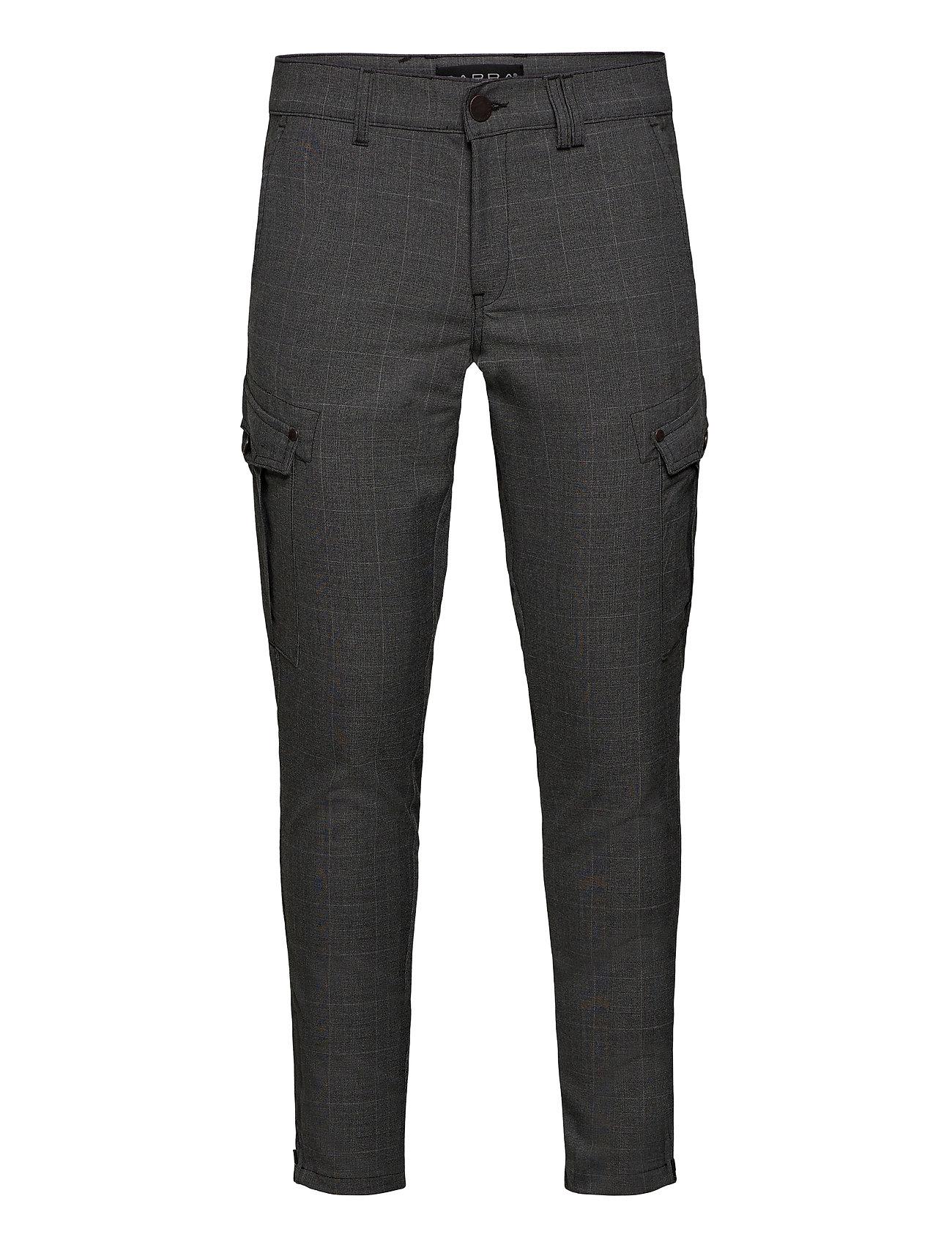 Image of Pisa Cargo Grey Check Pant Trousers Cargo Pants Grå Gabba (3456993253)