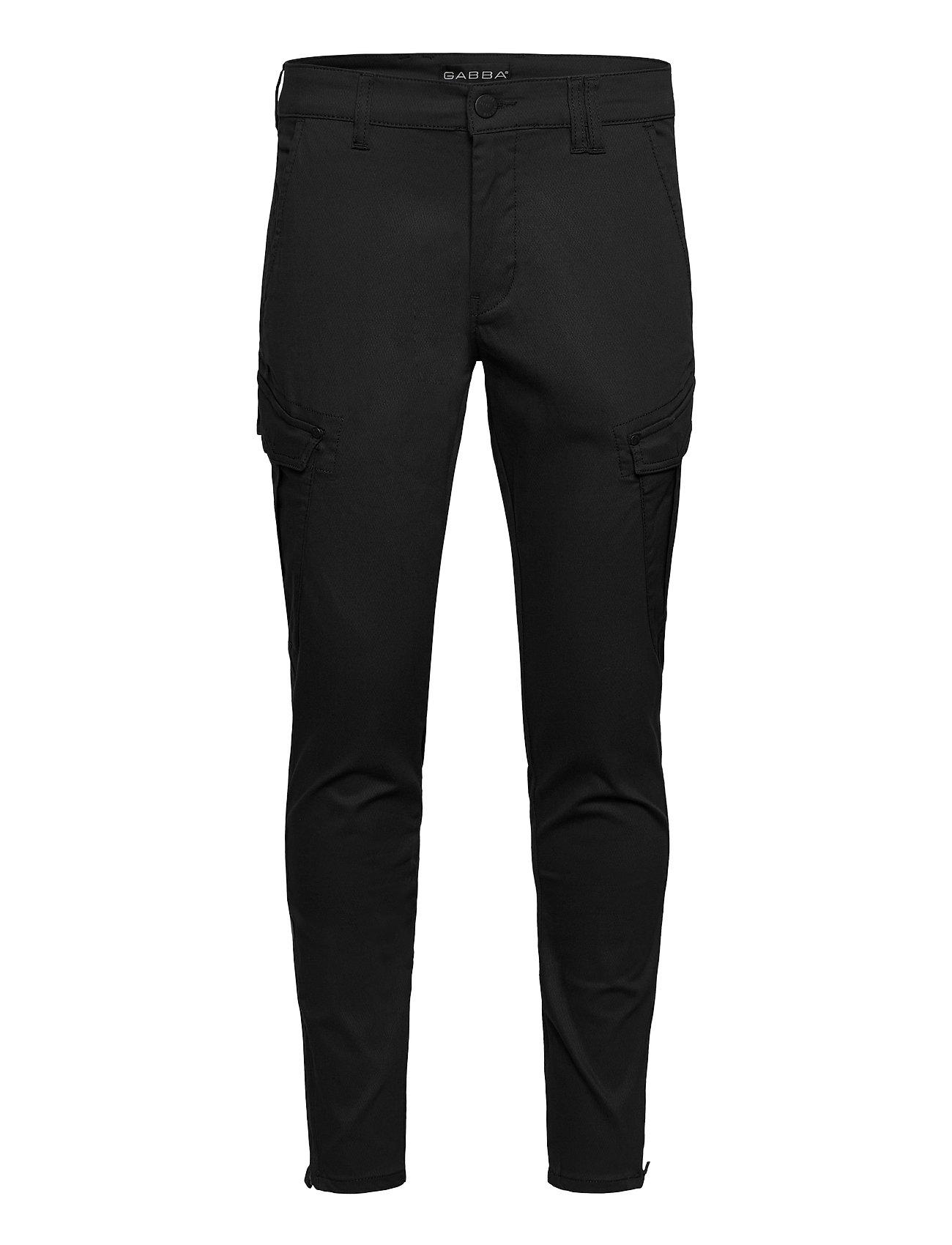 Image of Pisa Cargo K3280 Dale Pant Trousers Cargo Pants Sort Gabba (3453136777)